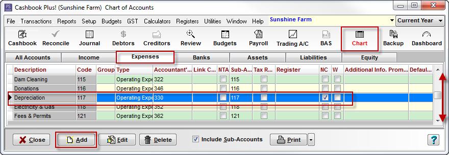 Fixed Asset Register Setup - PS Support